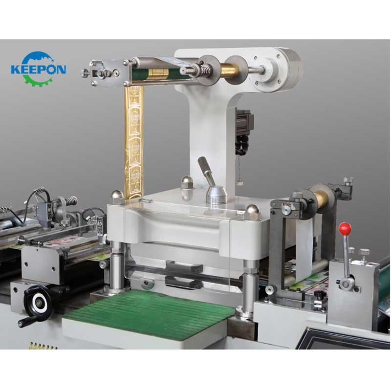 It's just a photo of Clever Half Cut Sticker Label Cutting Machine