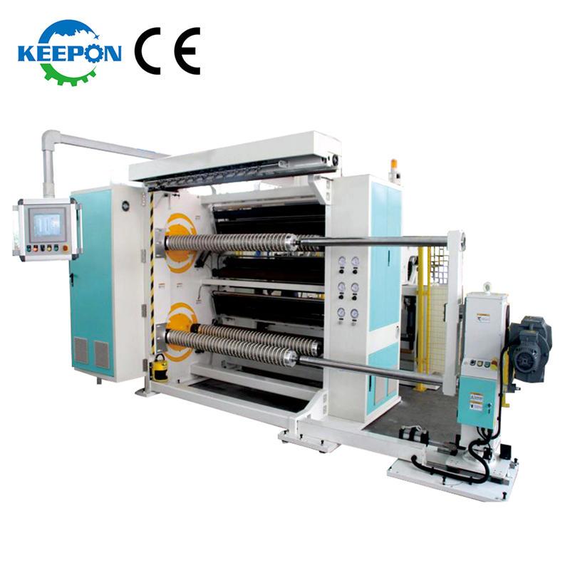 Slitter Rewinder Machine Manufacturer Film Slitting